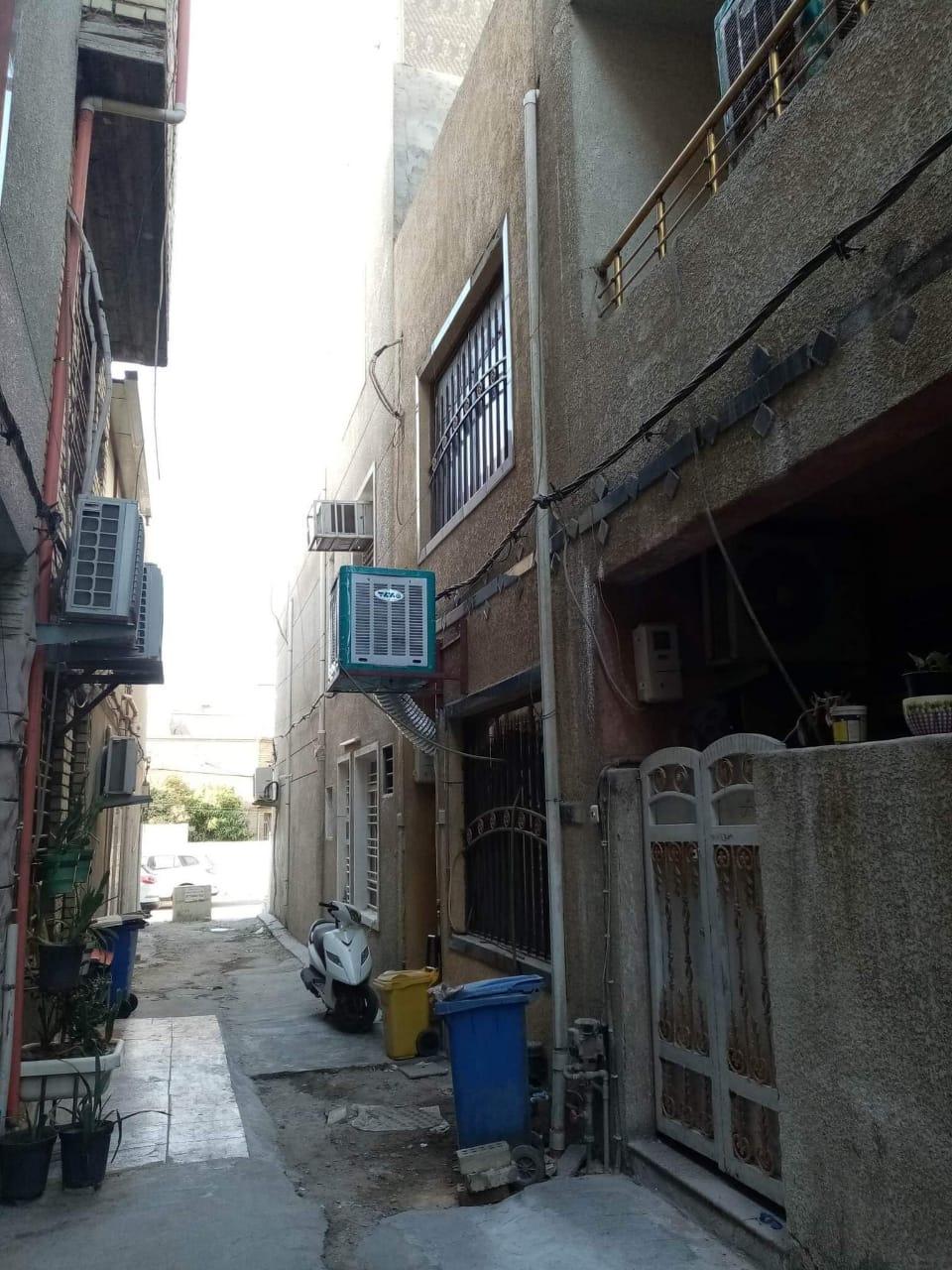 دار للبيع في بغداد الاعظمية شارع الاخطل